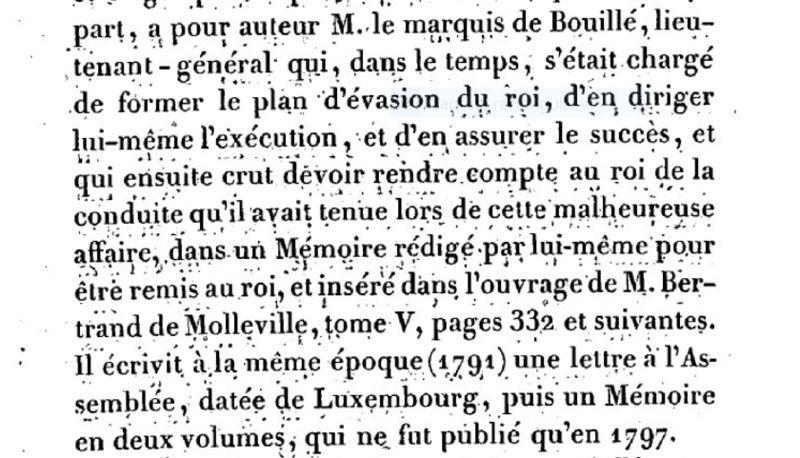 Mémoire du baron de Goguelat, sur les événements relatifs au voyage de Varennes Captur96