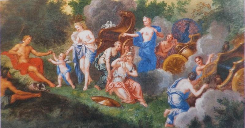 """Exposition au Grand Trianon, """" des Jardins et des Dieux """",  Jean Cotelle Imgp0091"""