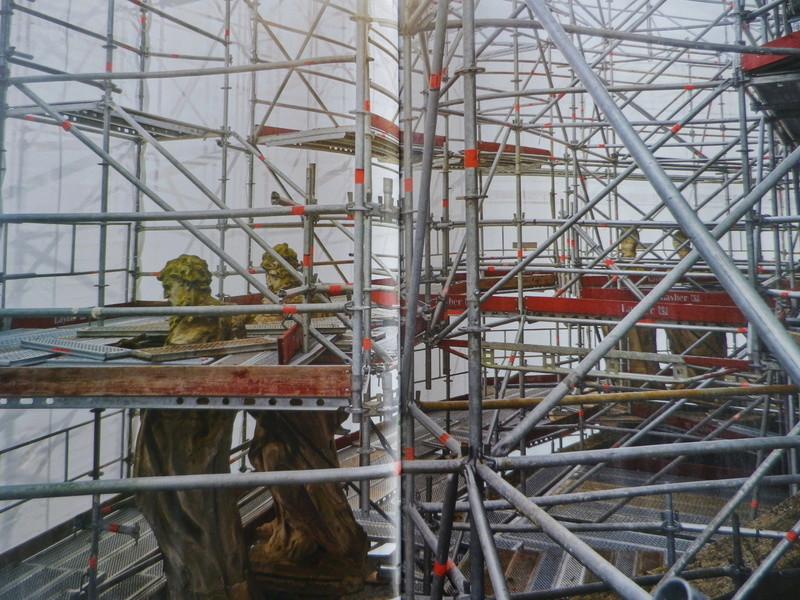 La restauration de la chapelle royale du château de Versailles Imgp0095