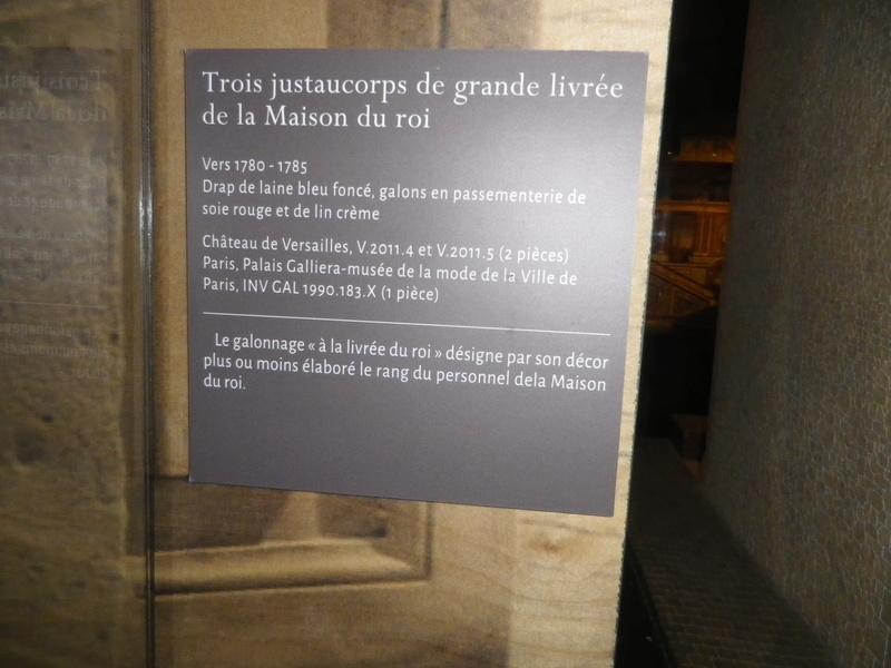 Exposition : Visiteurs de Versailles 1682-1789 - Page 3 Imgp0418
