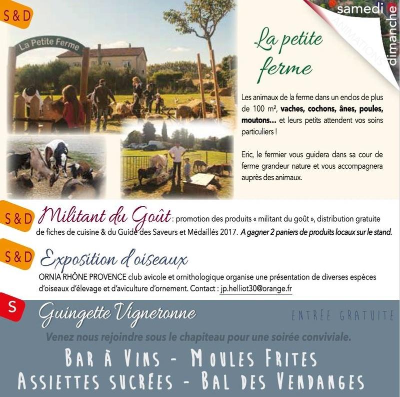 30 - CHUSCLAN : 19e Vendanges de l'Histoire les 14 et 15 Octobre 2017 1510