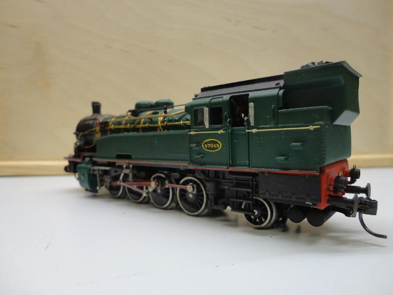 Transformation d'une BR 93 en type 97 SNCB Dsc08813
