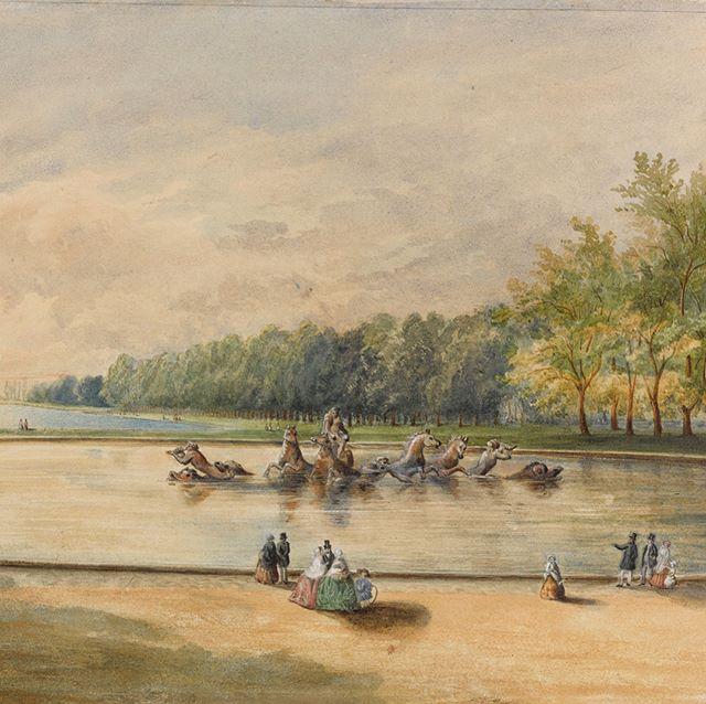 Vues anciennes du Château de Versailles et de son Domaine - Page 2 22857510