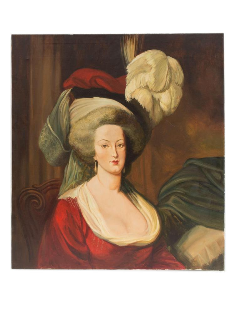 Marie-Antoinette en robe rouge sans ses enfants - Page 2 H1118-10