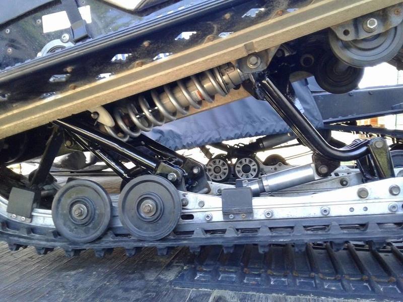 restauration de suspension Rage 2007 32313810