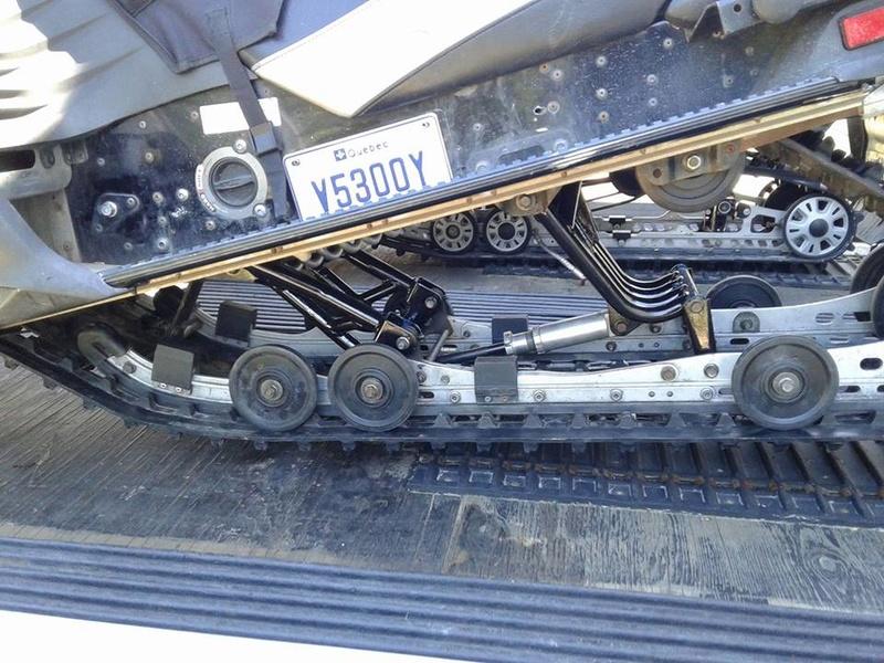 restauration de suspension Rage 2007 32331910
