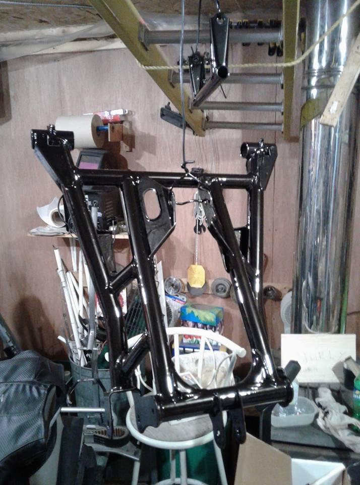 restauration de suspension Rage 2007 32336810
