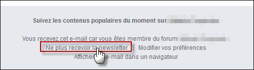 "Les newsletters ""contenus populaires"" Conten10"