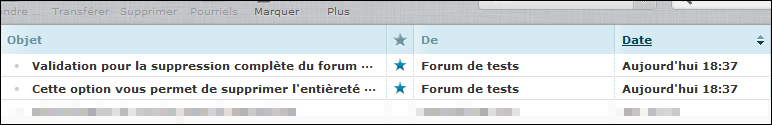 Suppression et réactivation d'un forum Existe14