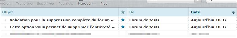Rimozione e Ripristino di un forum Existe14