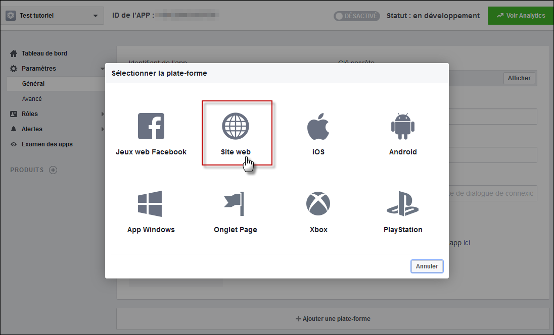 Configurer et utiliser Facebook Connect sur son forum Fb210