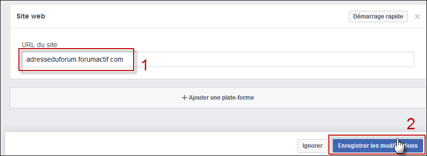 Configurer et utiliser Facebook Connect sur son forum Fb310