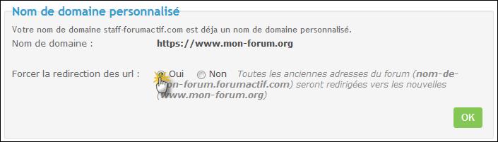 Noms de domaine personnalisés Tuto415