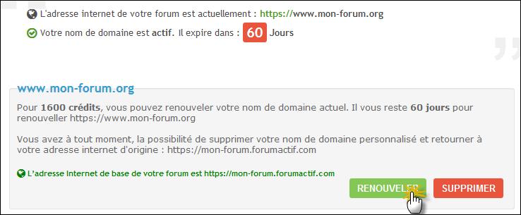 Pourquoi et comment obtenir un nom de domaine personnalisé pour mon forum ? Tuto712