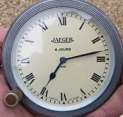 Jaeger - Montre de bord Jaeger 8 jours Jaeger16