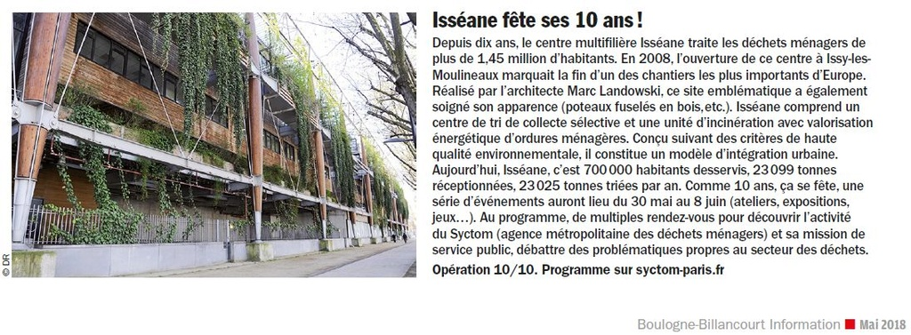 Isséane - centre de tri de collecte sélective et d'incinération des ordures ménagères Clip1037