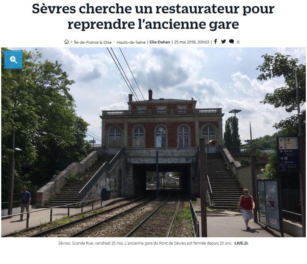 Restaurant tramway T2 Musée de Sèvres Clip1151