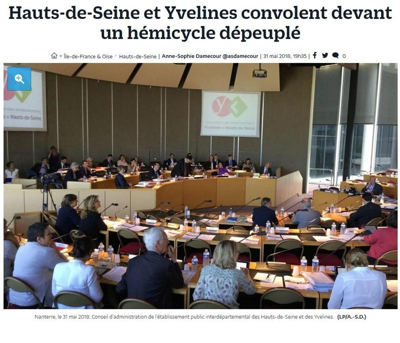 Fusion des départements des Hauts de Seine et des Yvelines Clip1172
