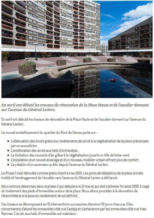 Rénovation du quartier du Pont-de-Sèvres (ANRU) Clip1199