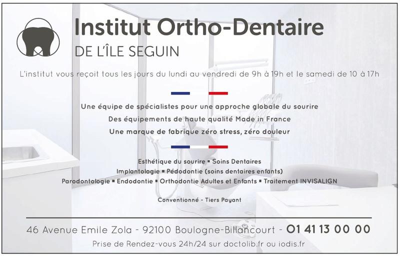 Institut Ortho-Dentaire de l'île Seguin Clipb109