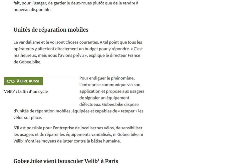 Concurrents de Vélib Clipb199