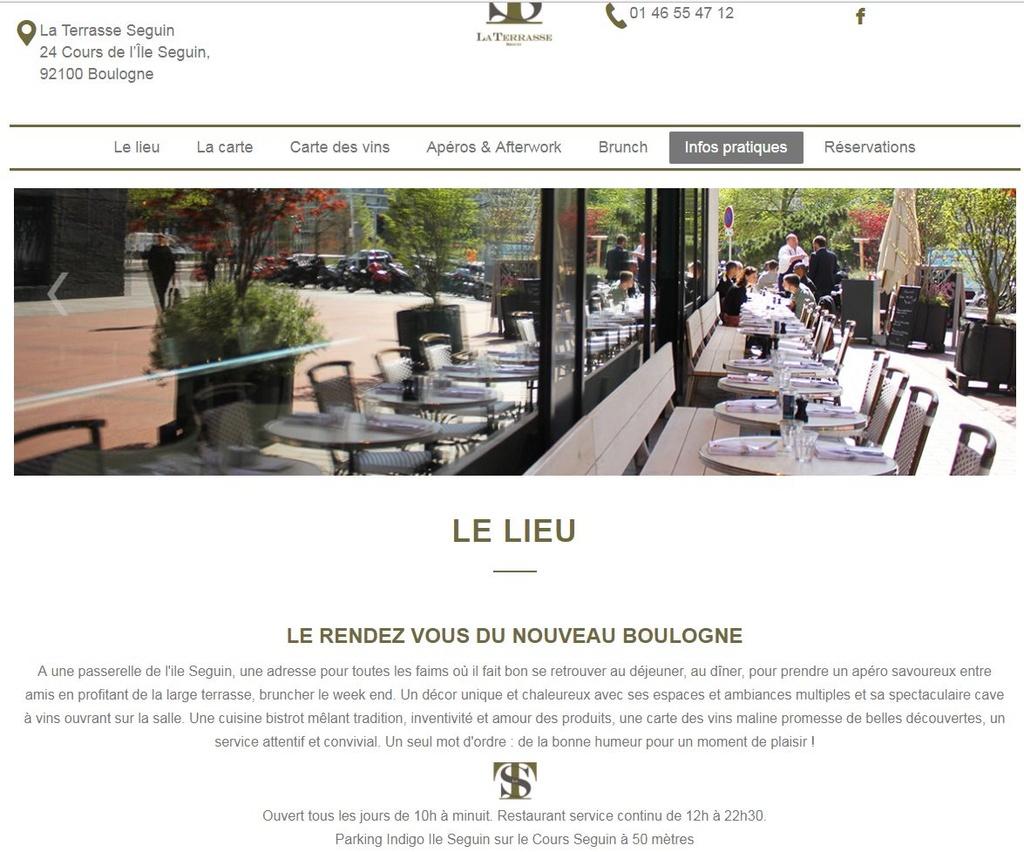 Restaurant La Terrasse Clipb209