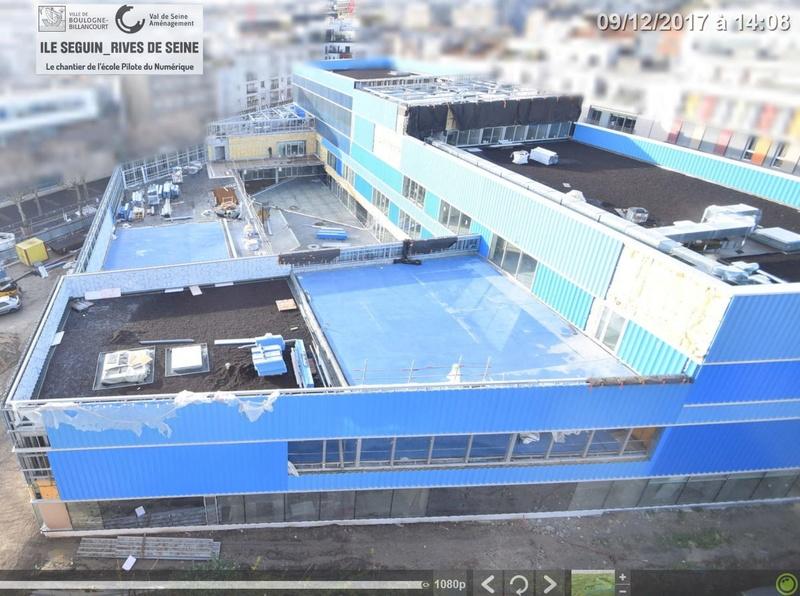 Groupe scolaire du numérique - macrolot M : informations et photos Clipb292