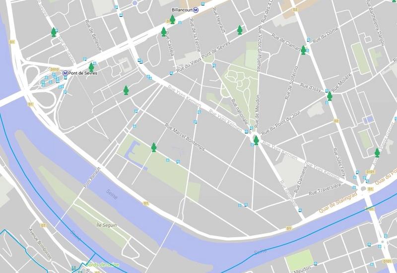 Collecte de sapins par Grand Paris Seine Ouest (GPSO) Clipb333