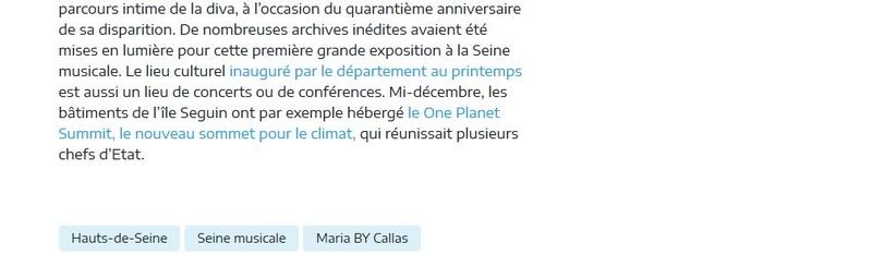 Expositions et évènements à la Seine Musicale de l'île Seguin Clipb351