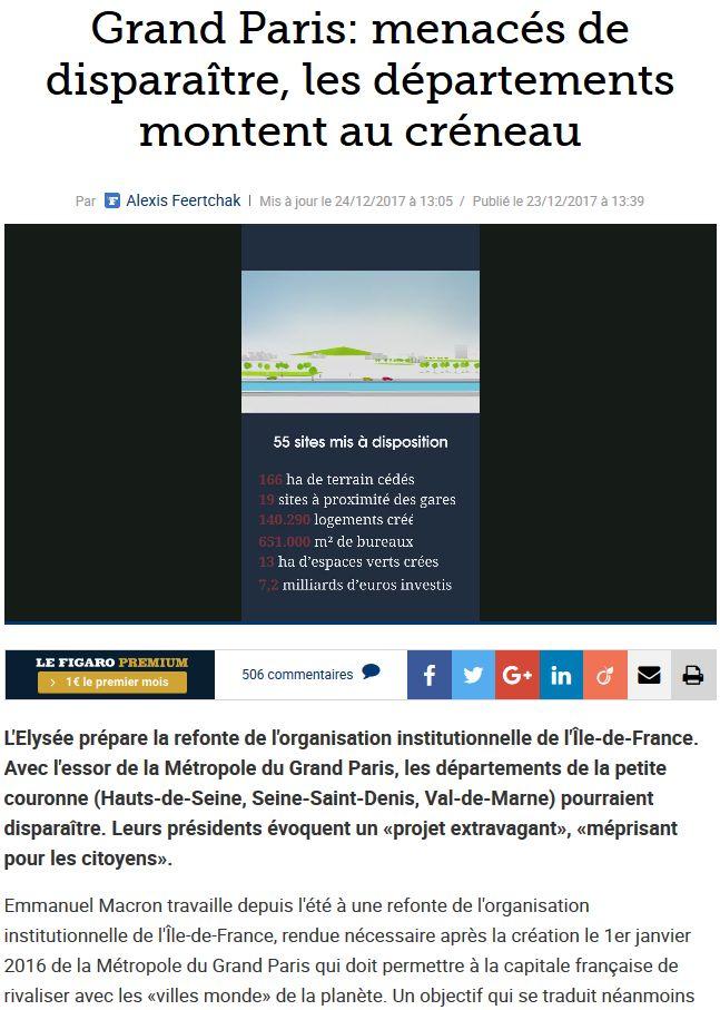 Fusion des départements des Hauts de Seine et des Yvelines Clipb377