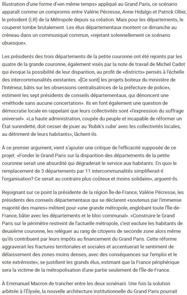 Fusion des départements des Hauts de Seine et des Yvelines Clipb378