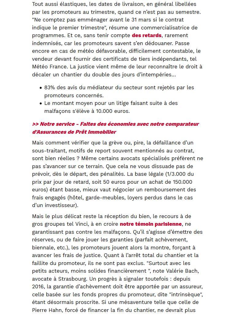 Actualités immobilières Clipb407