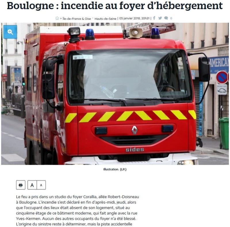 Intervention des pompiers Clipb442
