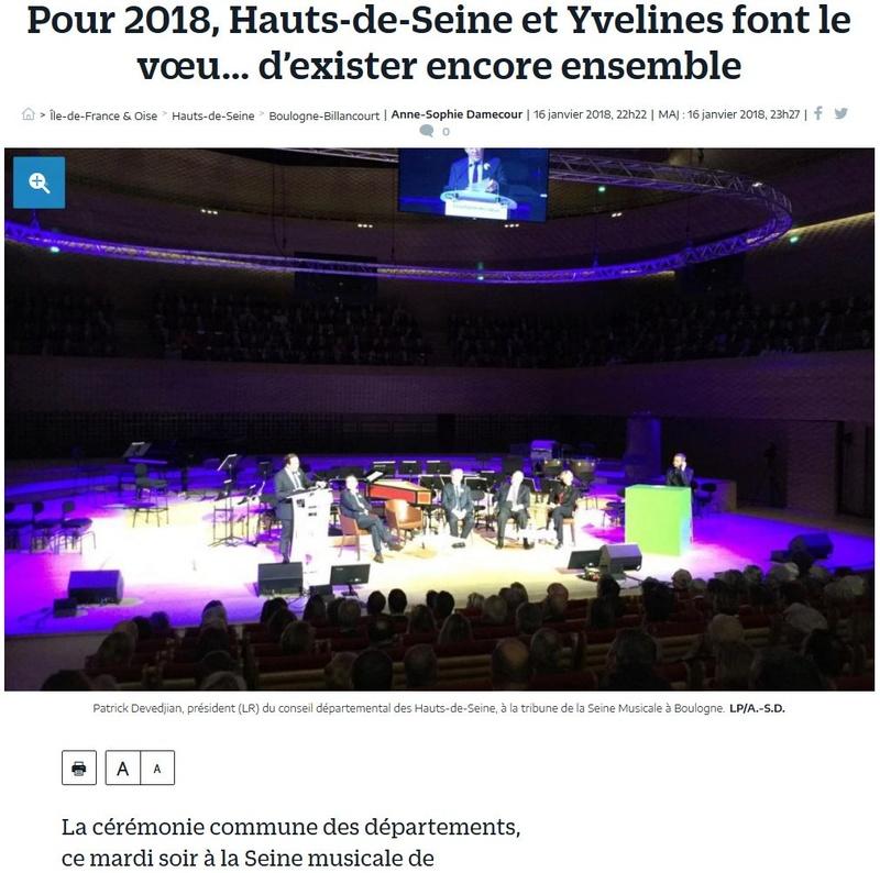 Fusion des départements des Hauts de Seine et des Yvelines Clipb494