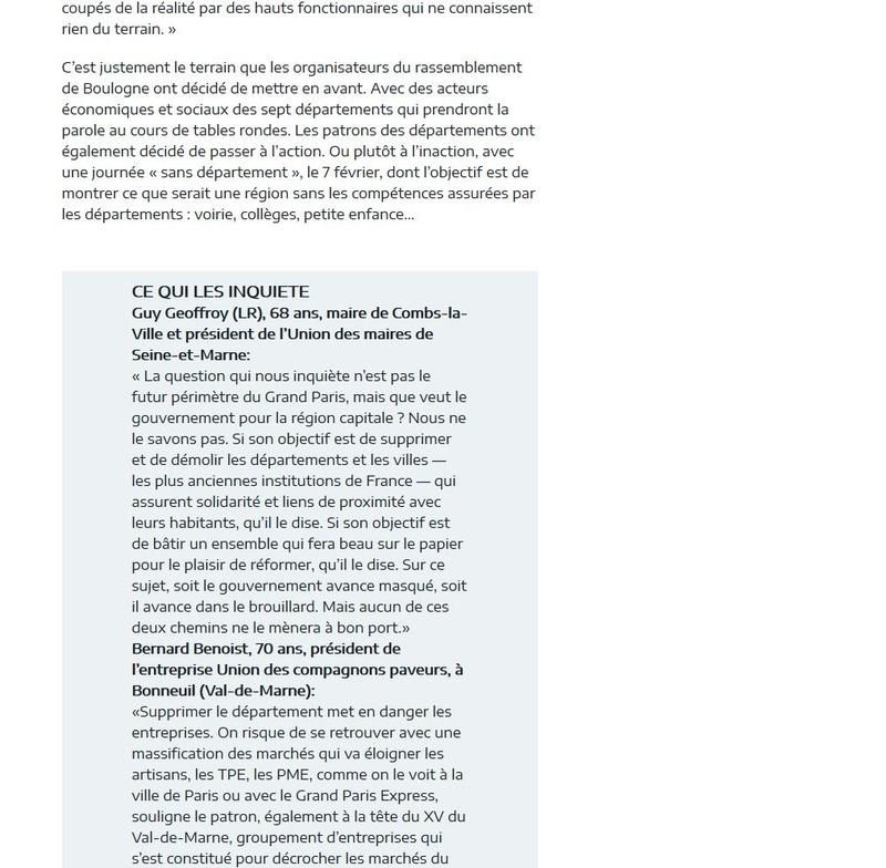 Fusion des départements des Hauts de Seine et des Yvelines Clipb564