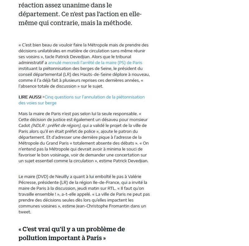 Aménagement et usages des voies sur berges à Paris Clipb697