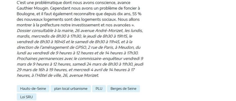 Révision du PLU Clipb744