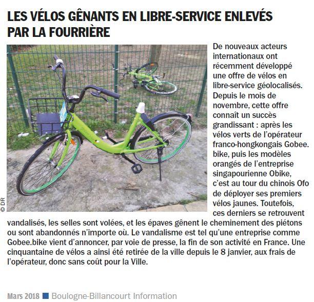 Concurrents de Vélib Clipb761