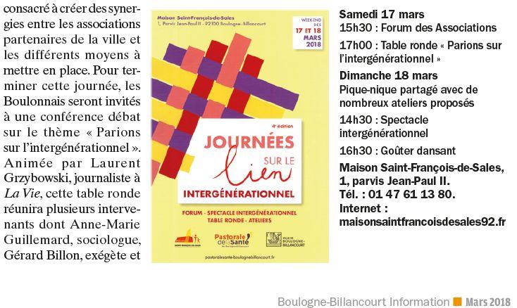 Evènements proposés par la Maison Saint François de Sales Clipb764
