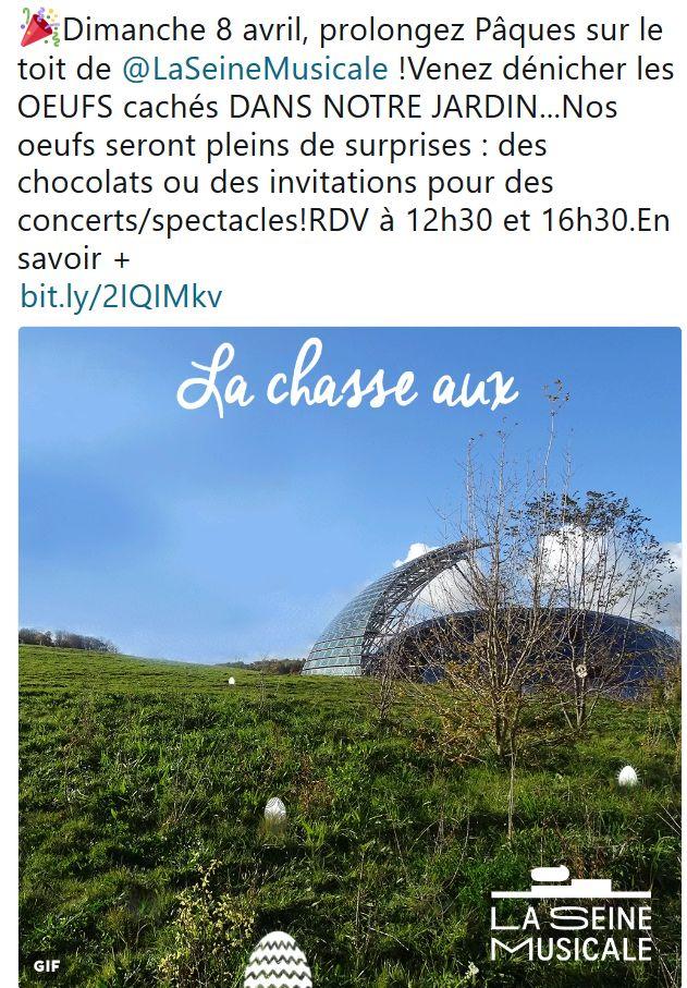 Expositions et évènements à la Seine Musicale de l'île Seguin Clipb818