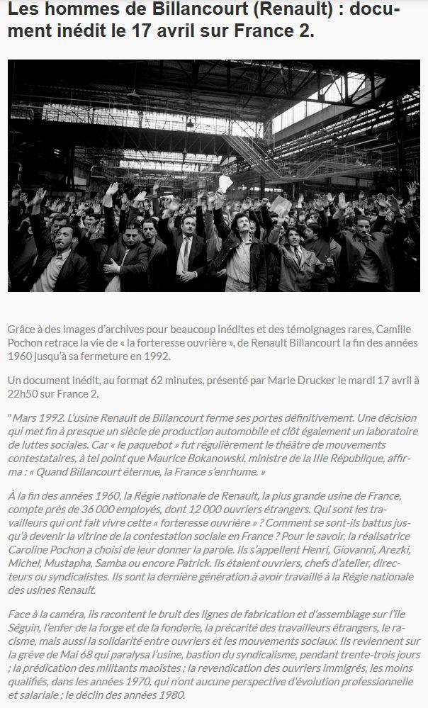 Histoire Renault Boulogne-Billancourt Clipb824
