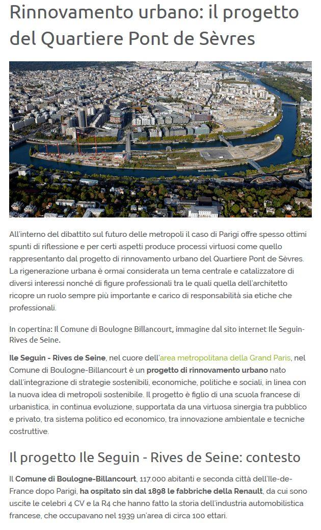 Articles de presse / de sites Internet sur la ZAC Seguin - Rives de Seine Clipb851