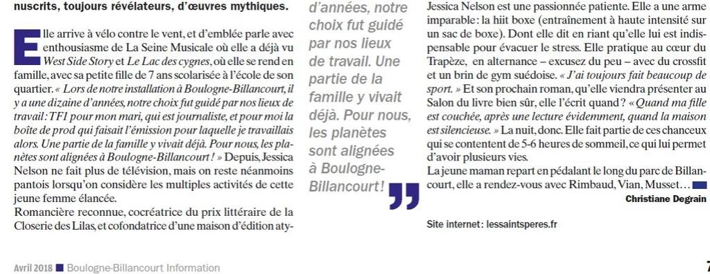 Articles de presse / de sites Internet sur la ZAC Seguin - Rives de Seine Clipb874