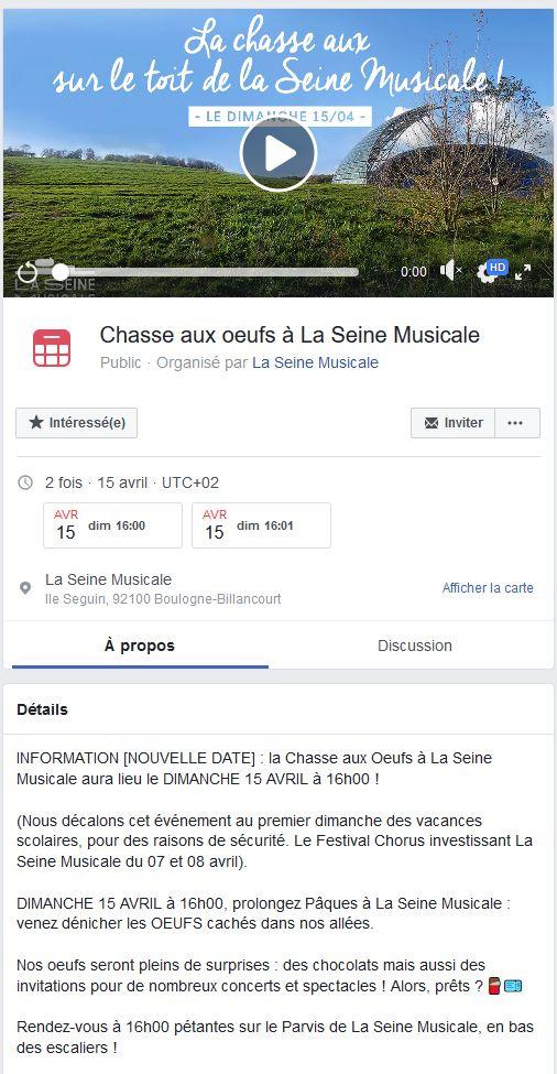Expositions et évènements à la Seine Musicale de l'île Seguin Clipb939