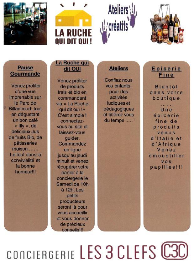Conciergerie Les 3 clefs Clipbo25
