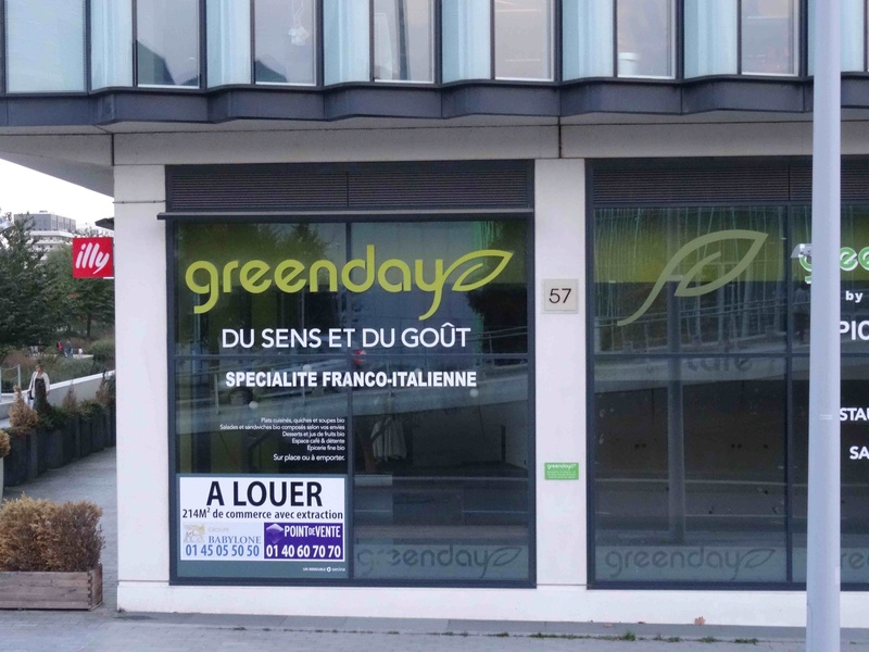 Ancien commerce - Restaurant Greenday Dsc04319