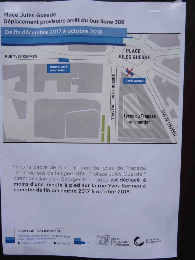 Bus 389 - Clamart - Trapèze - Hôtel de ville Boulogne-Billancourt Dsc05250