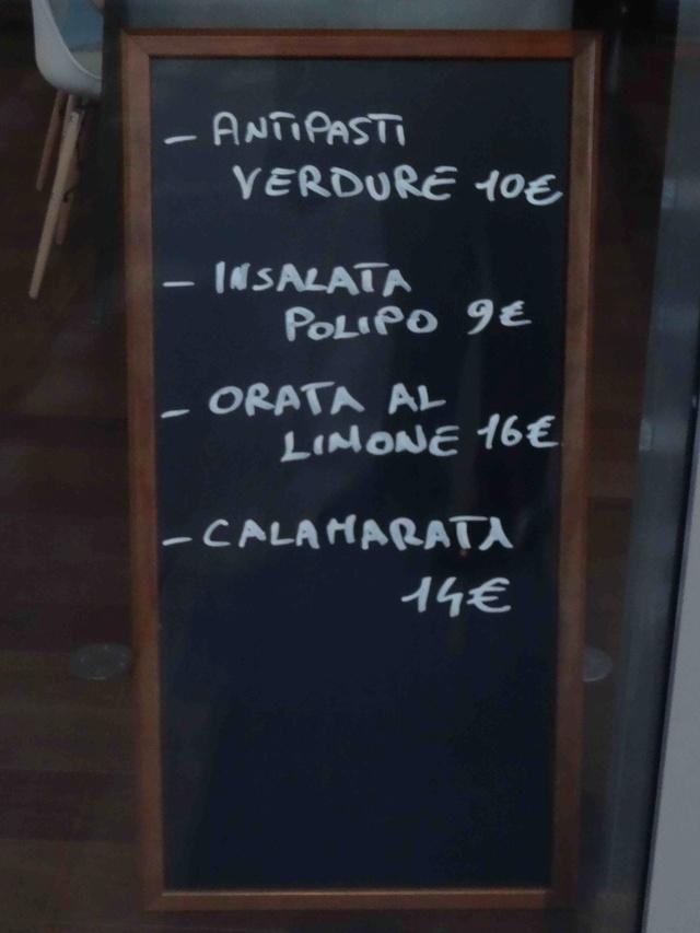 Restaurant napolitain Fratelli Pastore Dsc05430