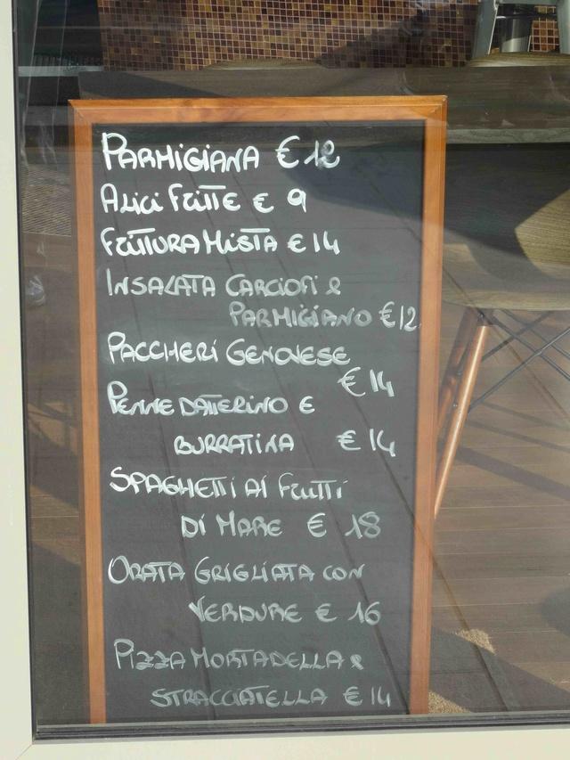 Restaurant napolitain Fratelli Pastore Dsc05711