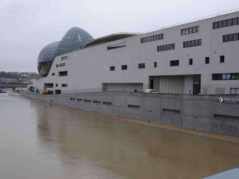 Crues de la Seine Dsc05737